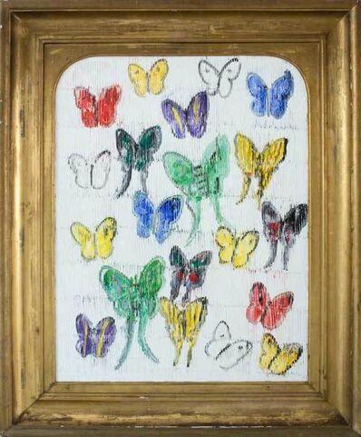 Hunt Slonem, 'White Butterflies (CER00033)', 2017