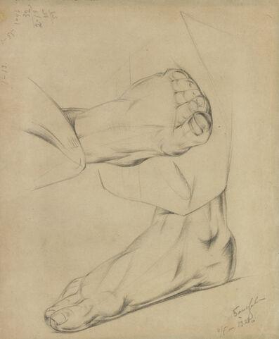 Alexander Bogomazov, 'Feet', 1928