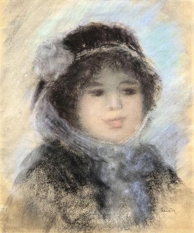 Pierre-Auguste Renoir, 'Portrait de Femme', 1885