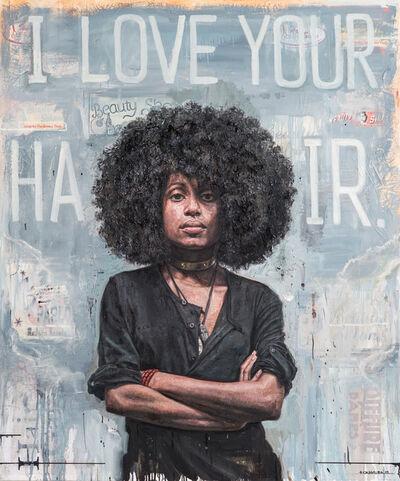Tim Okamura, 'I Love Your Hair', 2013