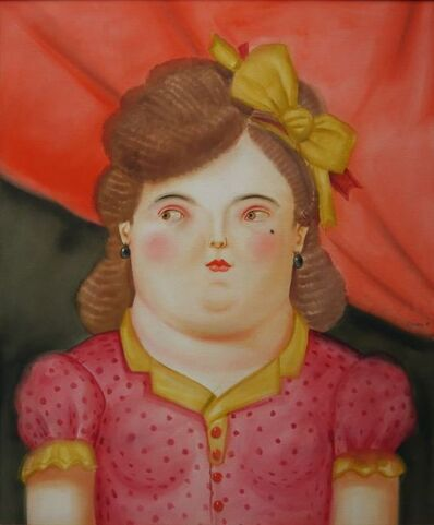 Fernando Botero, 'Mujer con Moño', 1981