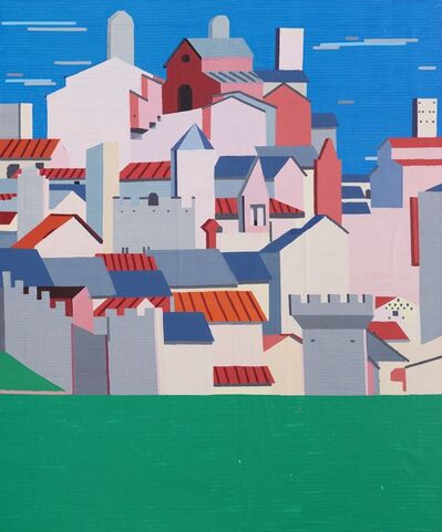 Guy Yanai, 'Grey Clouds Over the Old City', 2016