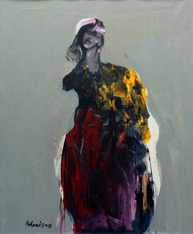 Khalid El-Khani, 'Yellow & Red', 2018