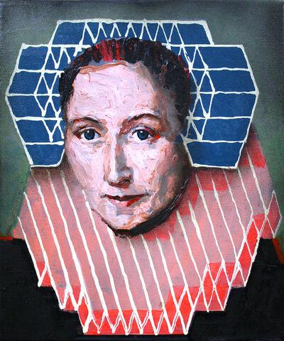 Will Teather, 'Portrait of Gillina van Vlierden (after Geldorp)', 2019