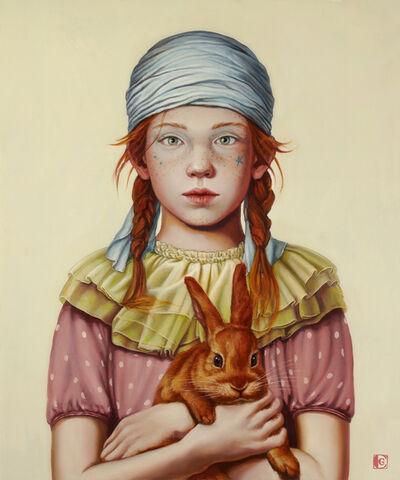 Claudia Giraudo, 'Segui il coniglio rosso', 2018