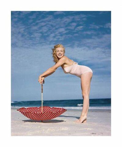 Edward Weston, 'Polka Dot Umbrella, Tobay Beach, 1949', 2014