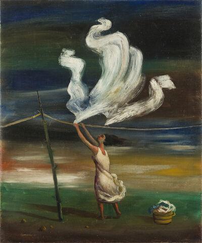 Mario Carreño, 'La Lavandera', 1941