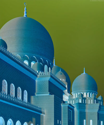 Andrew Prokos, 'Inverted - Grand Mosque Domes', 2020