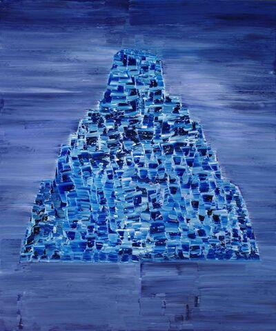Reza Derakshani, 'Honor Blue', 2016