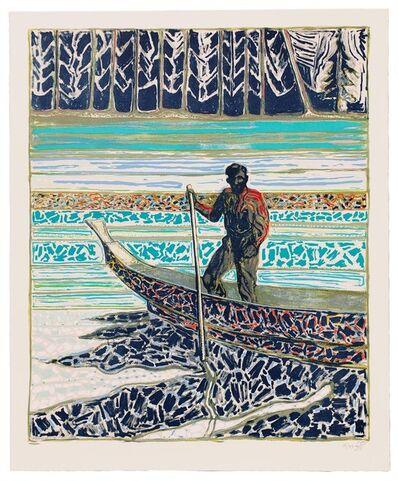 Billy Childish, 'sailish fisherman', 2020