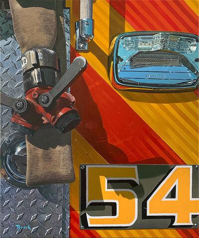 Henry Bosak, 'Engine 54', 2020