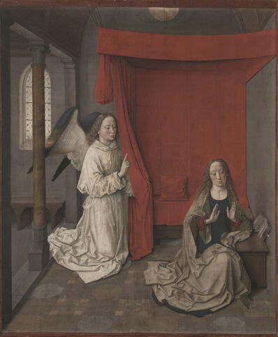 Dieric Bouts, 'The Annunciation', 1450-1455