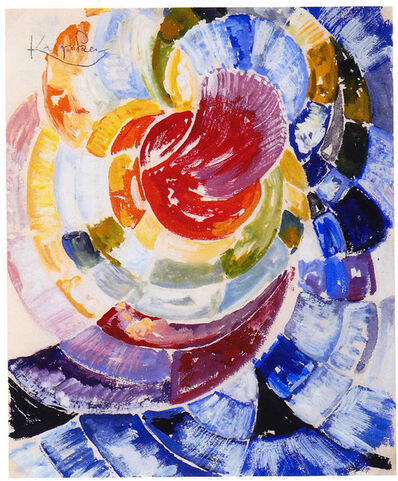 František Kupka, 'Study for 'Disques de Newton'', 1912