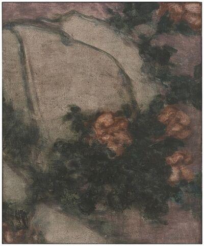 Wang Yabin, 'Flower and stone', 2015