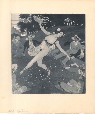 Emil Sartori, 'Erotic Scene VIII - Illustration', 1907