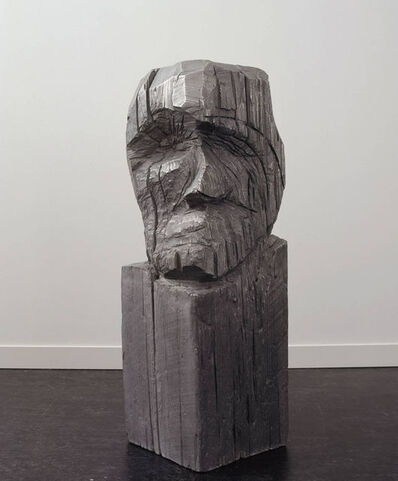 Thomas Houseago, 'Carved Head (Base)', 2007