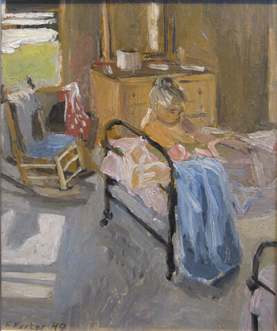 Fairfield Porter, 'The Bedroom', 1949