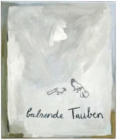 Sophie Ullrich, 'Balzende Tauben ', 2019