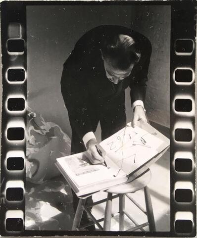 Peter Beard, 'Salvador Dalì signing book', 1963-1964