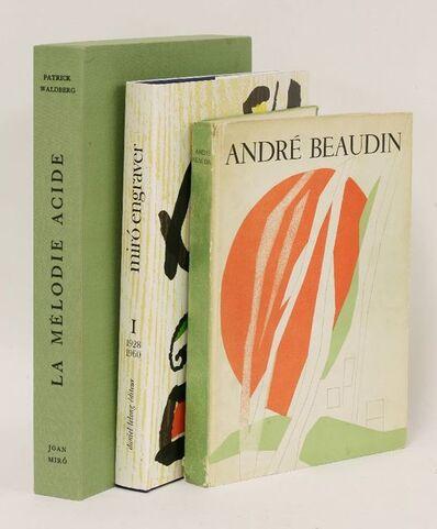 Joan Miró, 'Miró Engraver Volume I: 1928-1860', 1984