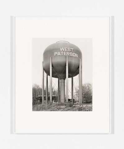 Bernd and Hilla Becher, 'Water Tower: West Paterson, NJ', 1980/1992