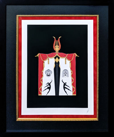 Erté (Romain de Tirtoff), 'BROADWAY'S IN FASHION', 1978