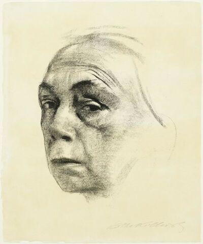 Käthe Kollwitz, 'Selbstbildnis', 1924