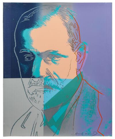 Andy Warhol, 'Sigmund Freud, from Ten Portraits of Jews of the Twentieth Century', 1980