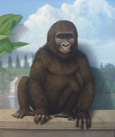 Tom Palmore, 'Gorilla in the Garden'