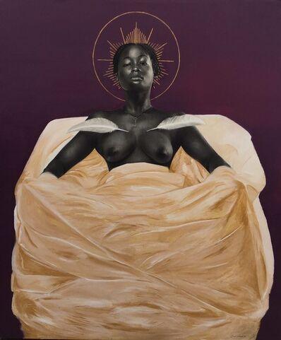 Juwon Aderemi, 'Rebirth of Colors 01; Purple', 2020
