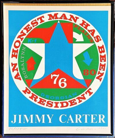 Robert Indiana, 'An Honest Man Has Been President: Homage to Jimmy Carter (Sheehan, 112)', 1980