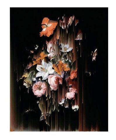 Gordon Cheung, 'Flowers in a Glass (after Rachel Ruysch)', 2017
