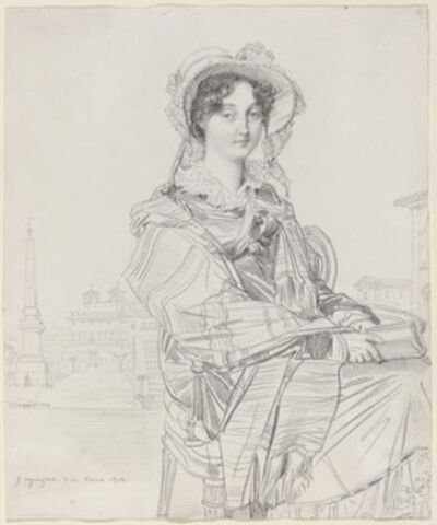 Jean-Auguste-Dominique Ingres, 'Mrs. Charles Badham', 1816