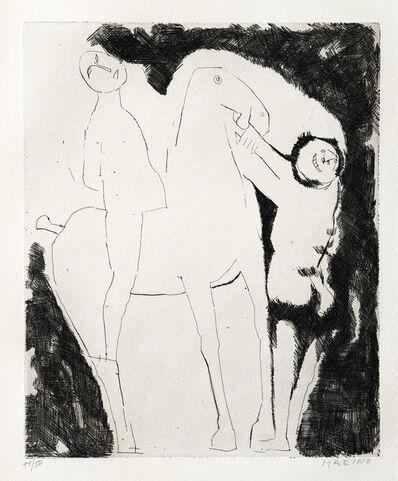 Marino Marini, 'Il Sogno Del Cavaliere', 1960