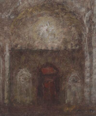Zoran Antonio Mušič, 'Interno di cattedrale (Cathedral interior)', 1984