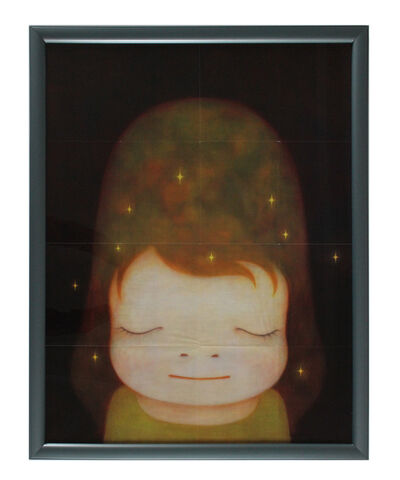 Yoshitomo Nara, 'Little Star Dweller (Large and very rare vintage fold-out poster)', ca. 2009