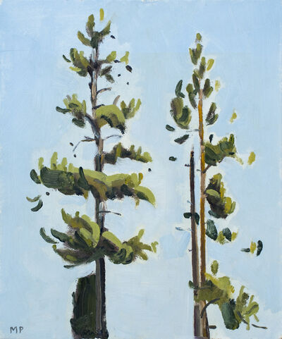 Mike Piggott, 'Two Pines', 2018