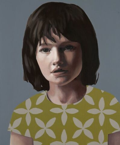 Claerwen James, 'Self portrait when young', 2005