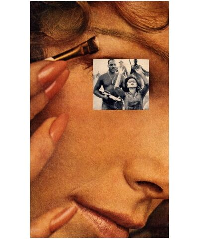 Martha Rosler, 'Makeup/Hands Up', 1967-1972