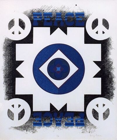 George Earl Ortman, 'PEACE', 1970
