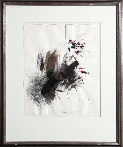 Josep Grau-Garriga, 'Untitled - Portrait with Abstract', 1979