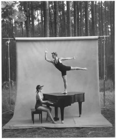 Annie Leibovitz, 'Mikhail Baryshnikov and Linda Dowdell, White Oak Plantation, Florida', 1991