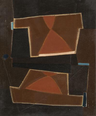 Bice Lazzari, 'Quadro in rosso', 1953