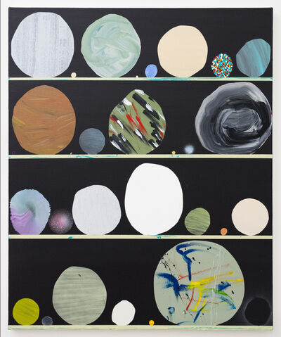 Paul Wackers, 'Constructing Planets', 2018