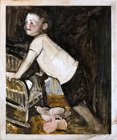 Yuma Tomiyasu, 'Boy With Soft Toy', 2020