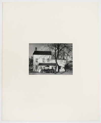 Walker Evans, 'XIII (Farmhouse, Westchester County, New York, 1931', 1971