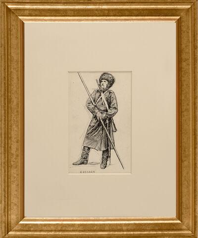 Edward Hopper, 'Cossack', ca. 1900