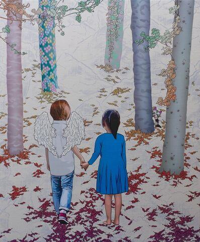 Hiroshi Mori, 'Favorite Place - Angel & Girl ', 2016