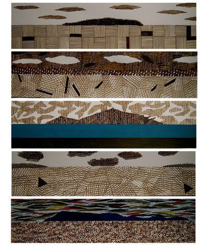 Susan Hardy, 'Island Series I-V', 2015