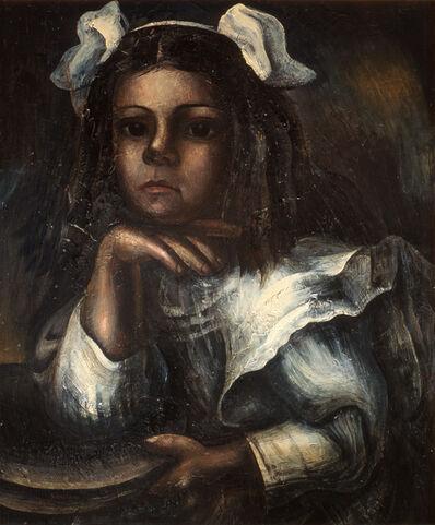 David Alfaro Siqueiros, 'Retrato de María Asúnsolo niña', 1935